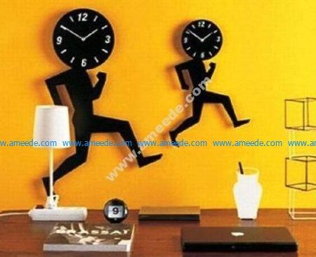 Running away time clock