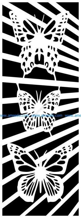 butterfly screen