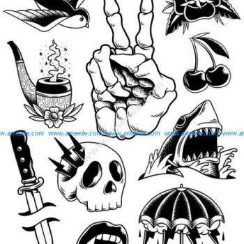 comic style vector
