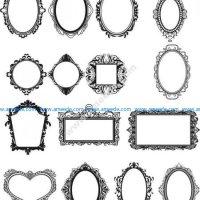 mirror frame pattern