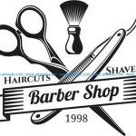 Barber shop hair cut shaves