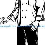 Chef of a high class restaurant