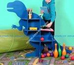 Dinosaur T-Rex Shelf Furniture CNC Plans