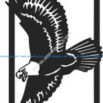 Eagle Painting vector