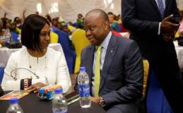 Fidelity Bank Boss Showcase at a Book Reading event to commemorate the 2019 World Book Day