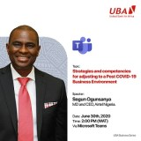 UBA Hosts Airtel MD in Quarterly Business Series, Calls for Registration of Business, SMEs Owners