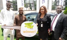 Onions seller wins Brand New car in Access bank Transact and Win Campaign.