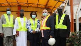Dr Nwanwuche, Permanent Secretary, Federal Ministry of Transportation led Nigerian Ports Authority and Nigerian Shippers' Council on courtesyvisit to Ports & Cargo Handling Services Limited, the flagship company of SIFAX Group