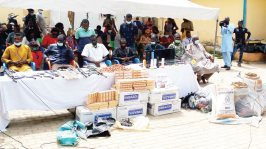 50 suspects arrested for robbery, kidnapping, firearms recovered