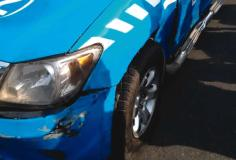 Driver strips naked, booked by FRSC