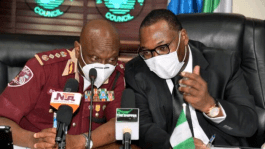 NSC, FRSC In Strategic Partnership to set standards for truck owners and drivers for effective port operations.