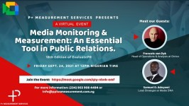 Communications experts to dissect industry challenges at the 18thedition of EvaluatePR.