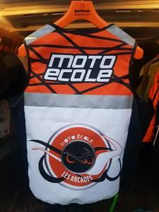 Gilet Moto Dos Améla