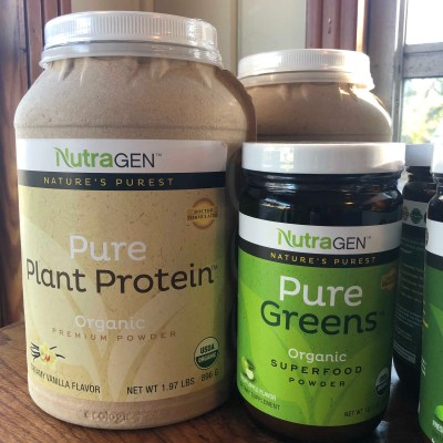 Pure protein and greens