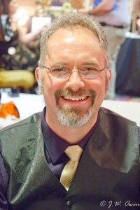 Author Winfield Strock smiling