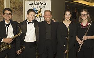Les DeMerle at the Big Band Bash
