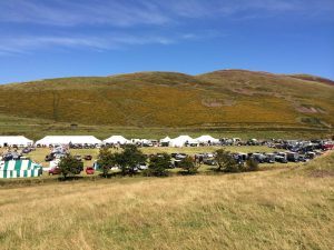 The spectacular location for the Ennerdale show