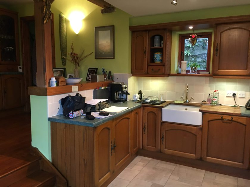Before and afters kitchen transformation