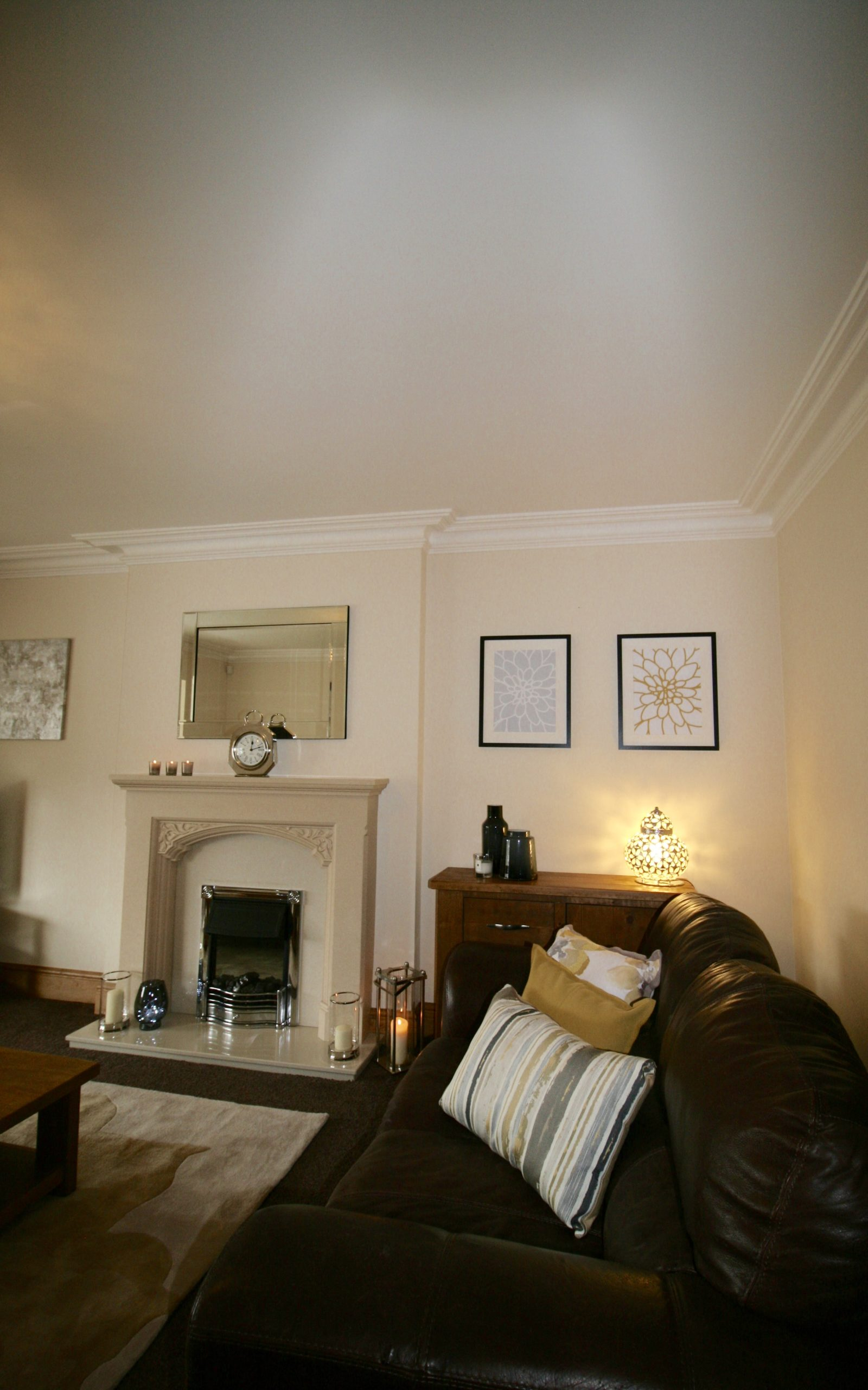 Living room refresh by Amelia Wilson Interiors Ltd