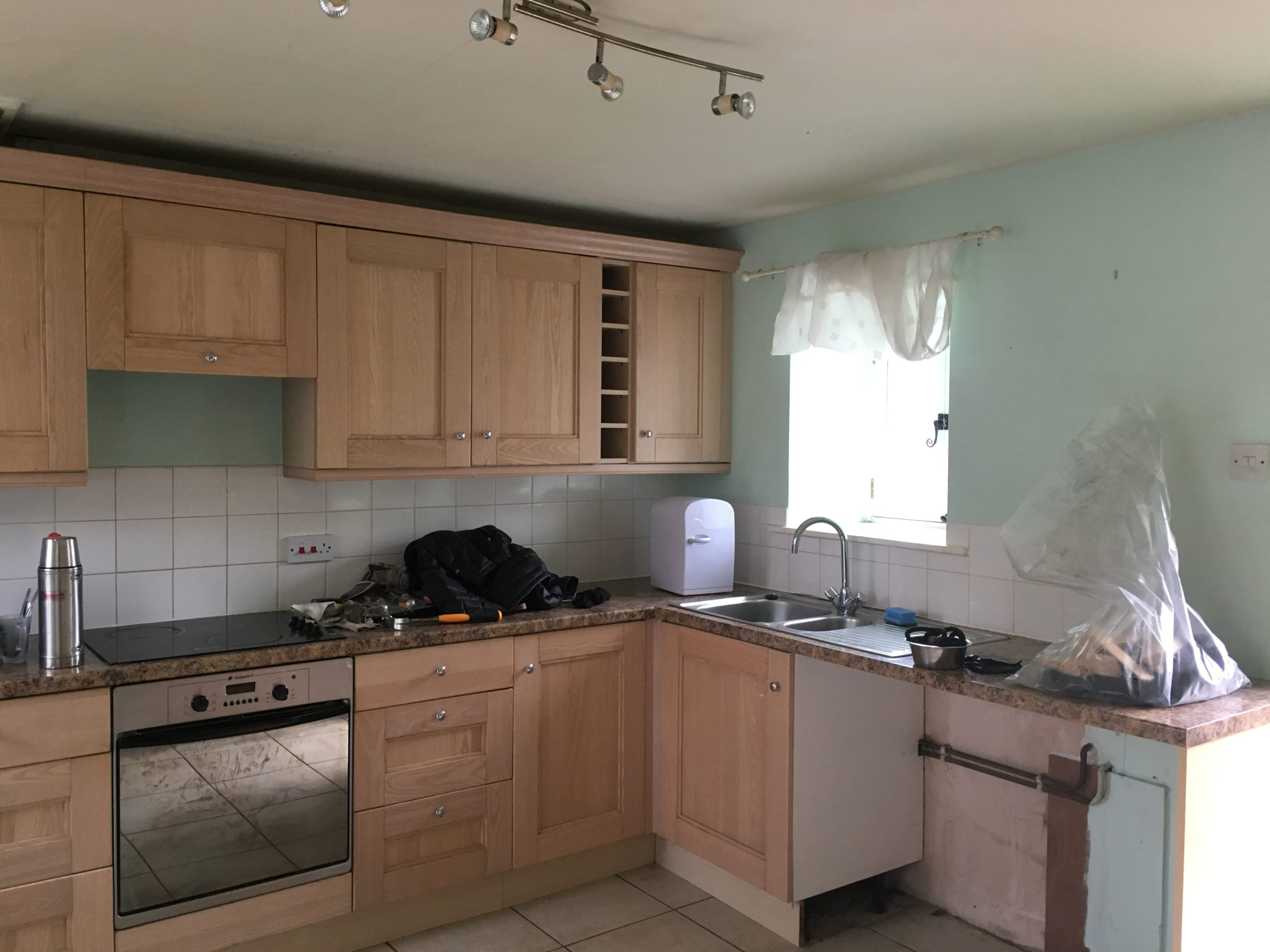 Interiors before and afters