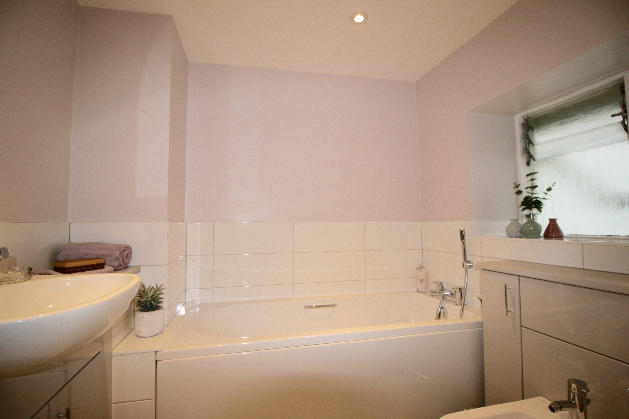 Dream bathroom - bath with grip handles
