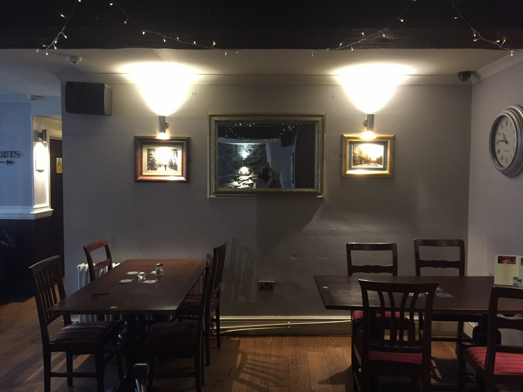 The Bistro at The Mill in Ulverston before the refurbishment by Amelia Wilson Interiors Ltd