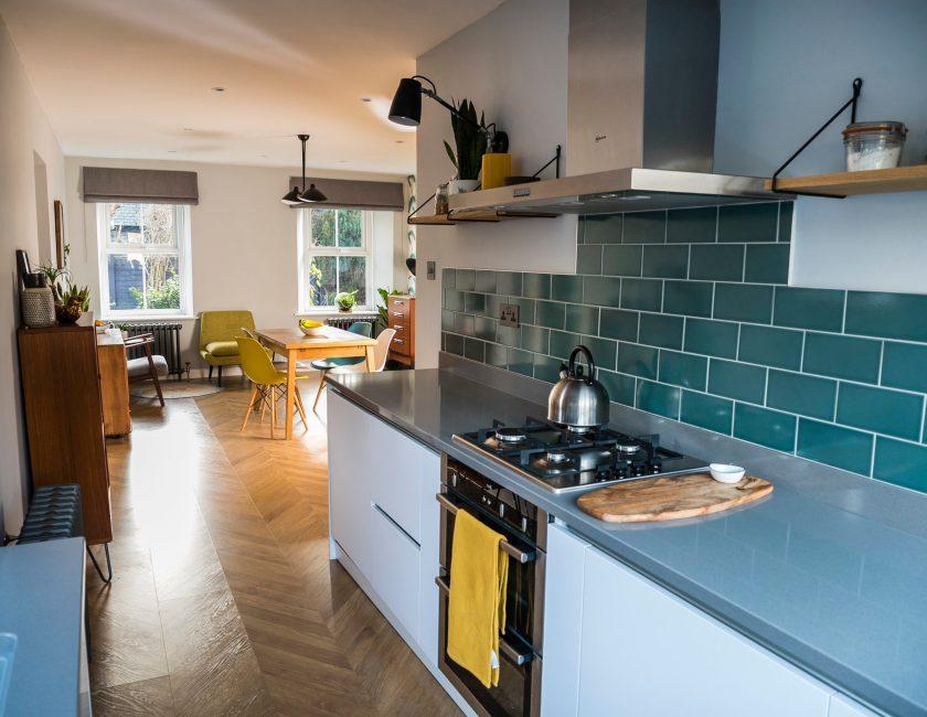 Interior design Hacker kitchen designed by Amelia Wilson interior designer Cumbria
