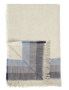 Striped linen throw, currently £49.50 on sale at John Lewis