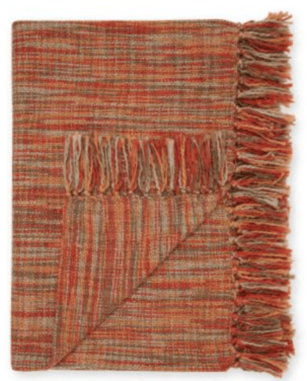 Multicoloured throw from Next