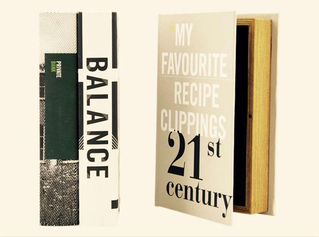 Storage books from Scandinavian interiors retailer Mi Abode in Uppermill