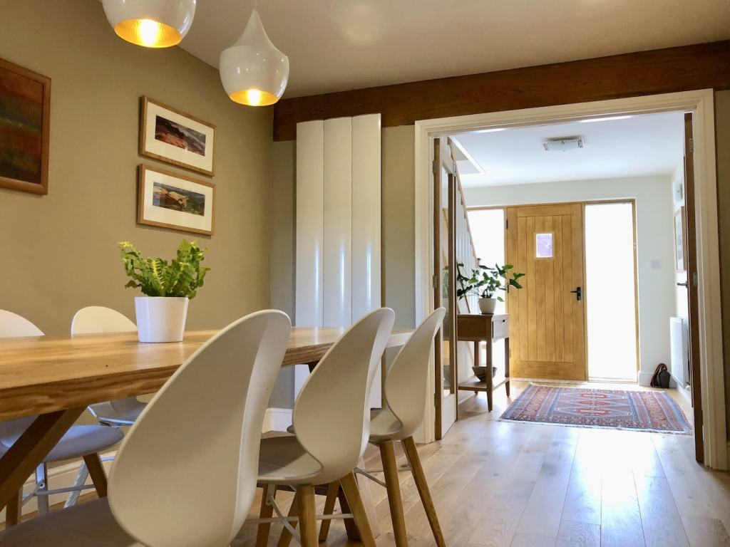 Open Plan Dining Area and Hallway