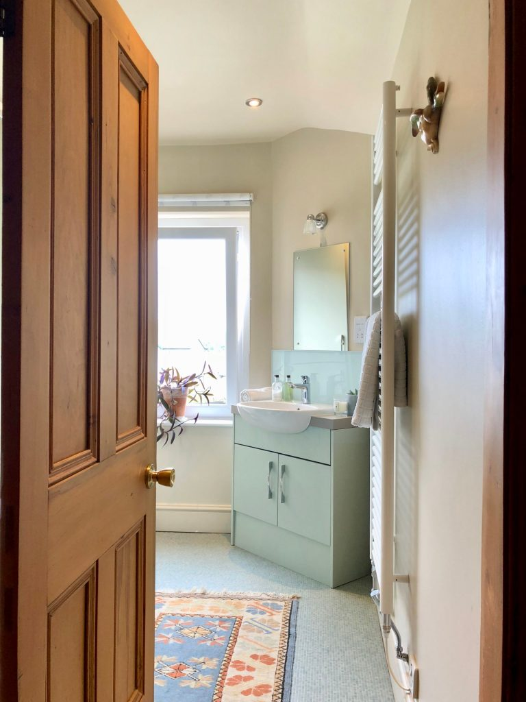 Before and afters. Bathroom transformation. Interior design Cumbria