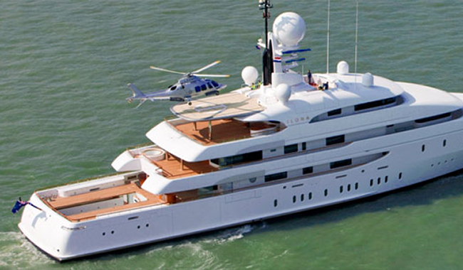 video amels ilona comes home for major refit