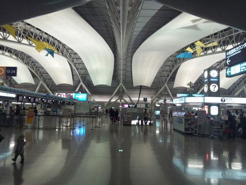 関西国際空港第一ターミナル入り口