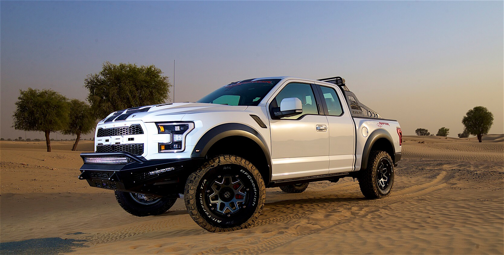 2018 Ford F 150 Shelby And Baja Raptor Introduced In Uae
