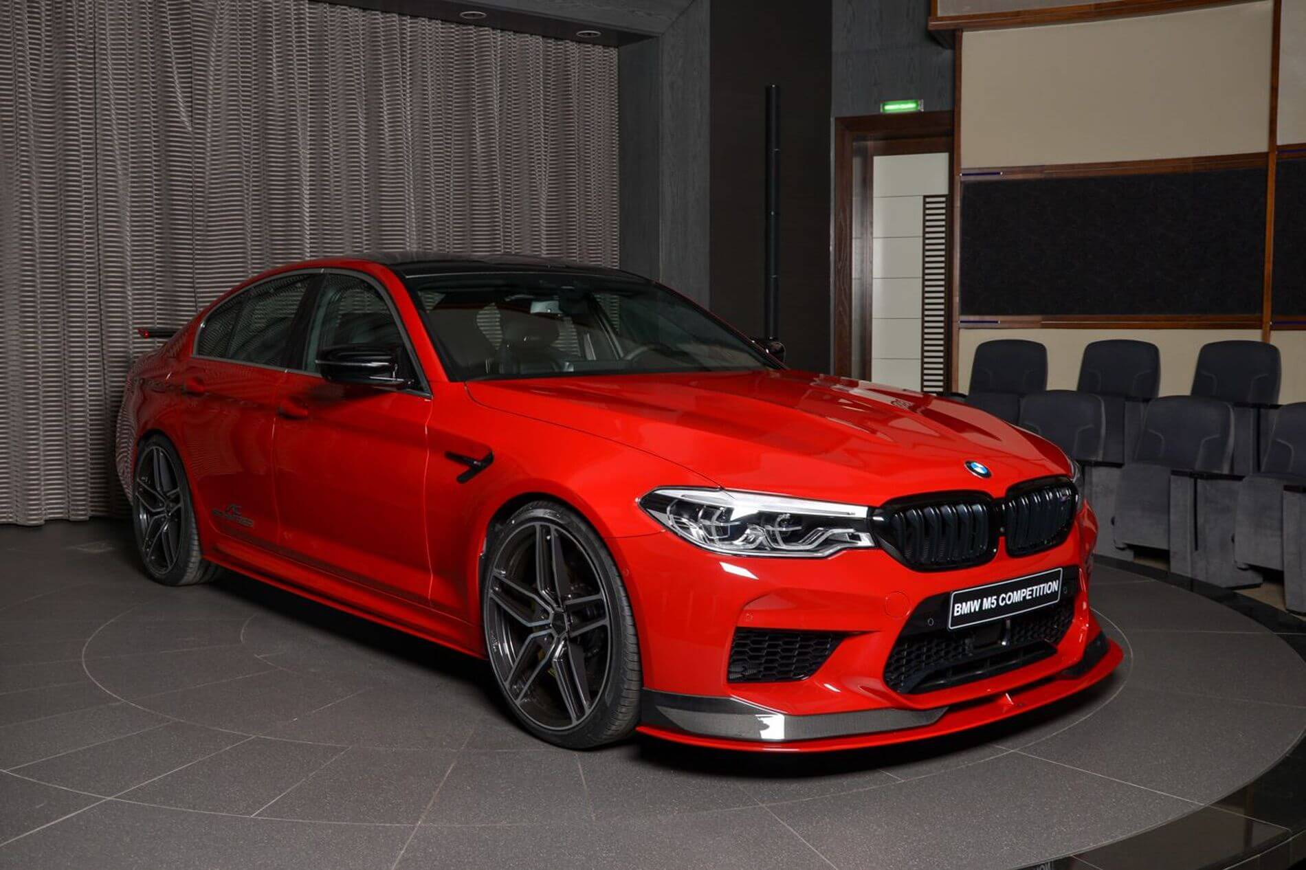 Abu Dhabi Gets World S First Bmw M5 Competition Amena Auto