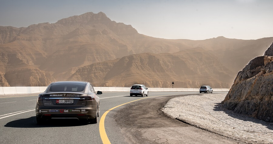 Jebel Jais Cars