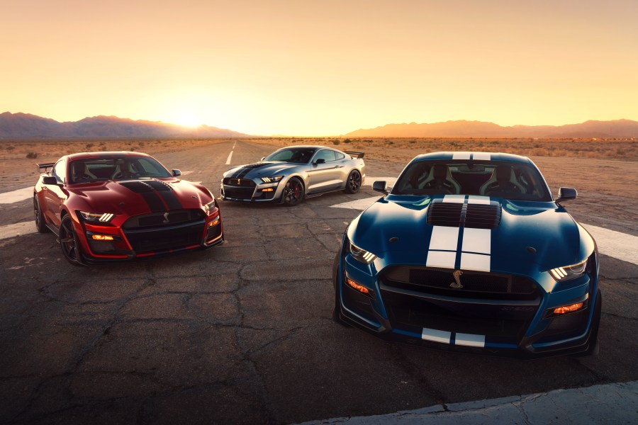 2020 Ford Mustang Shelby GT50