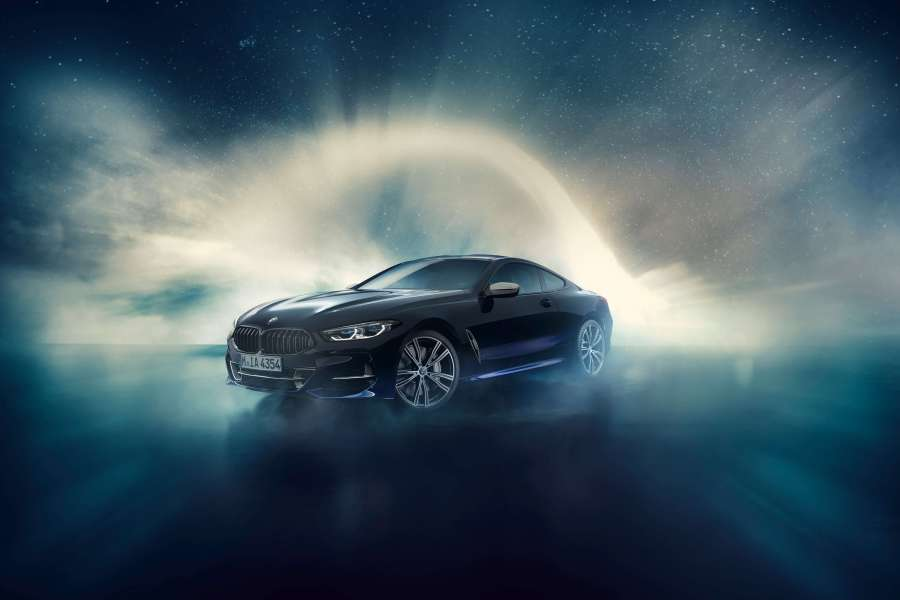 850i Night Sky BMW