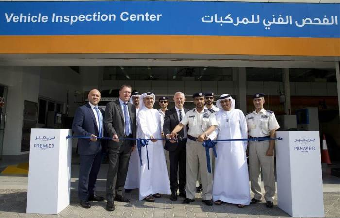 Adnoc Vehicle Inspection Centre Abu Dhabi