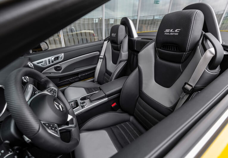 2020 Mercedes-Benz-SLC Interior