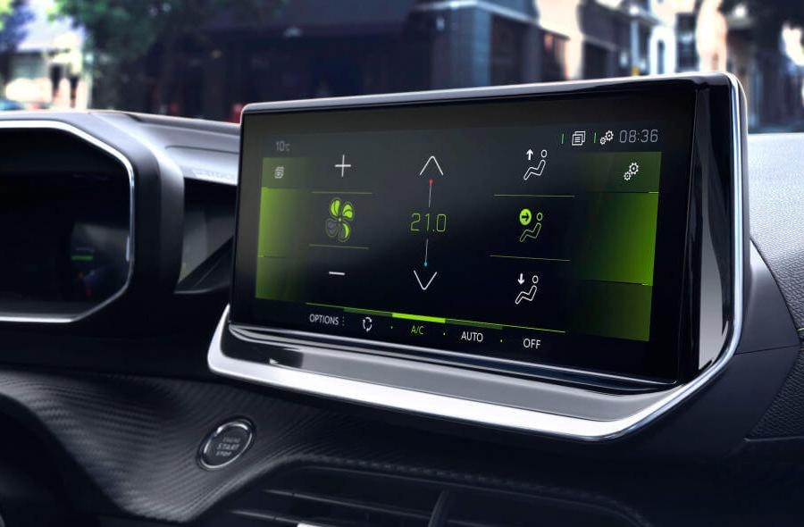 peugeot infotainment system