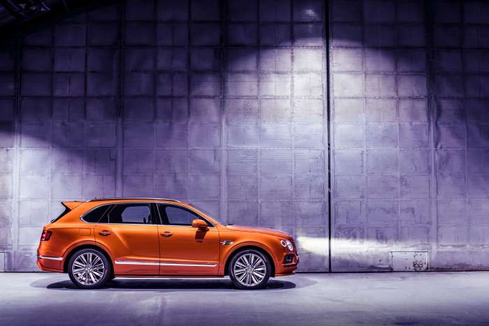 Bentayga Speed 1 Hero UAE