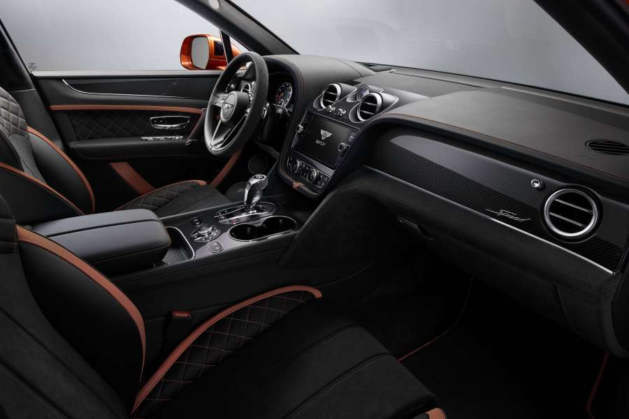Bentayga Speed 22 Interior