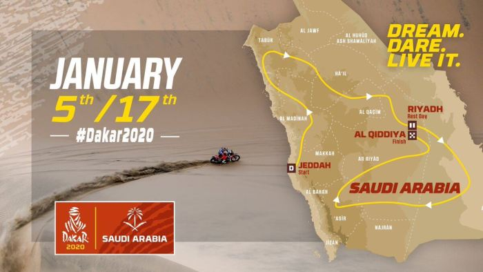 Dakar Rally 2020- Saudi Arabia