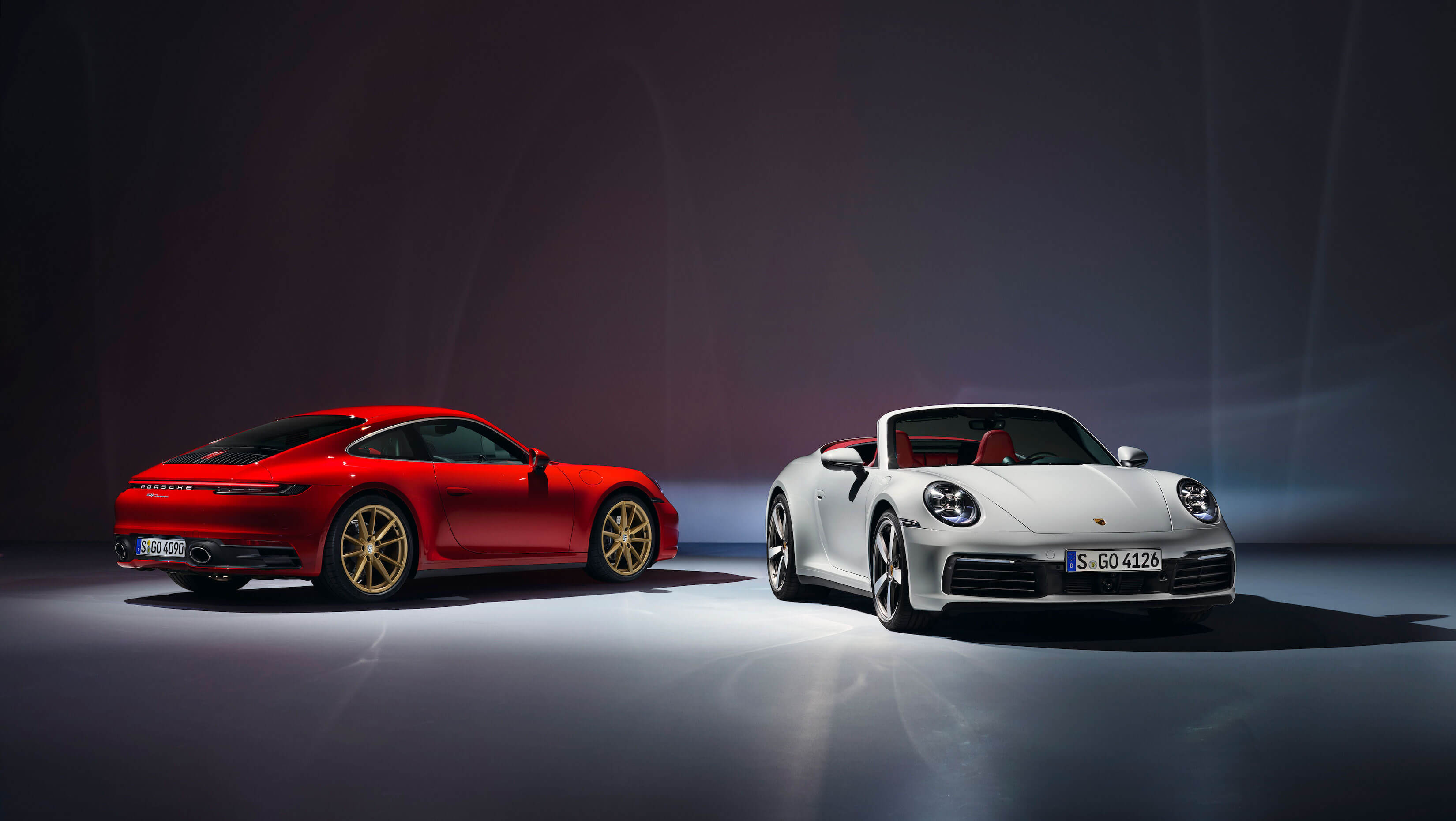 Porsche 911 Carrera Cabriolet and Coupe