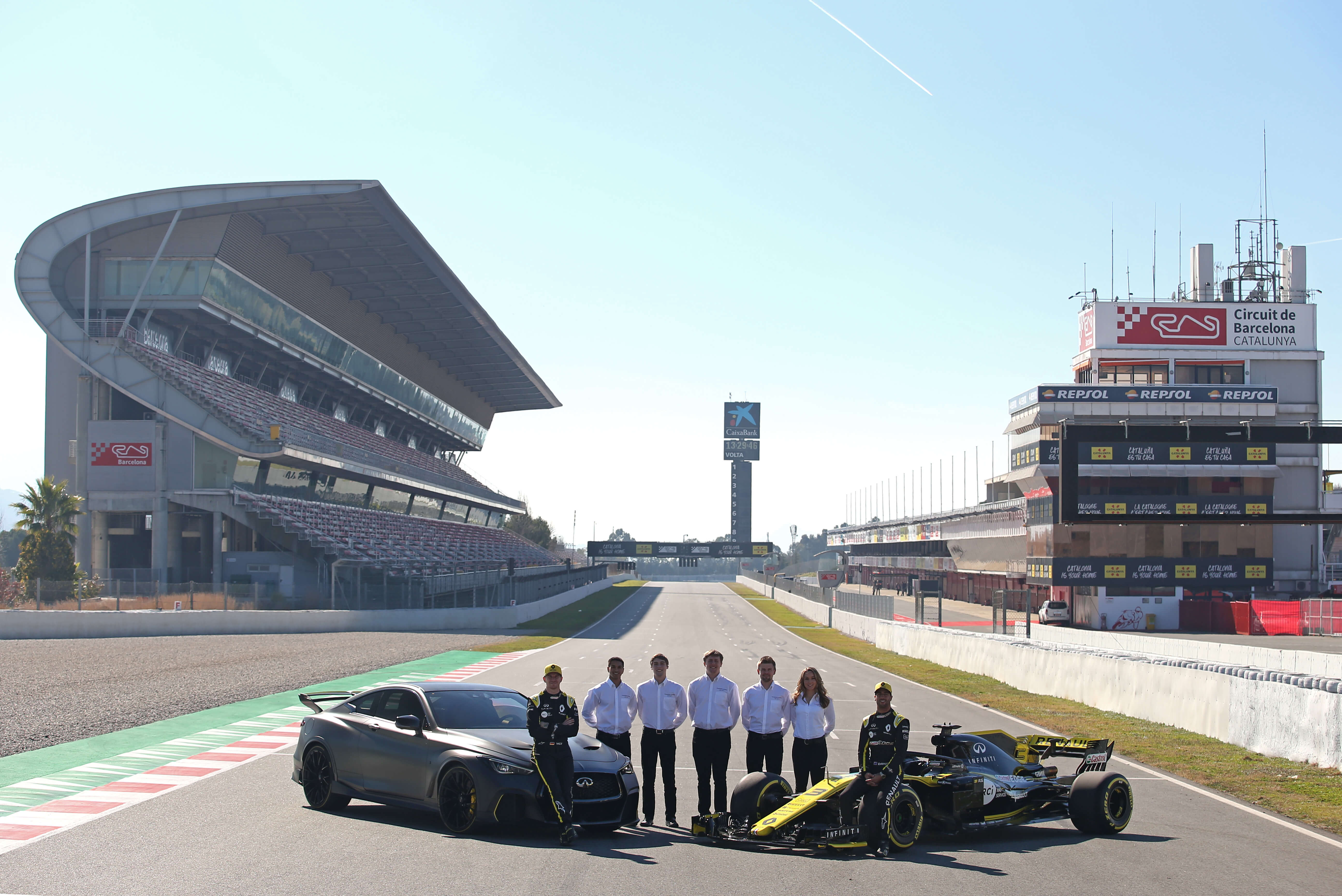 2019 Renault Sport F1 Team Filming Day