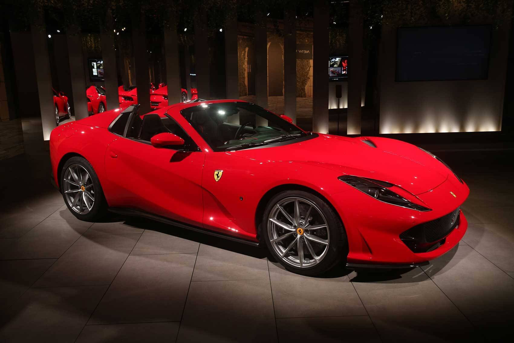Ferrari 812 Gts Is The Epitome Of Open Top Performance