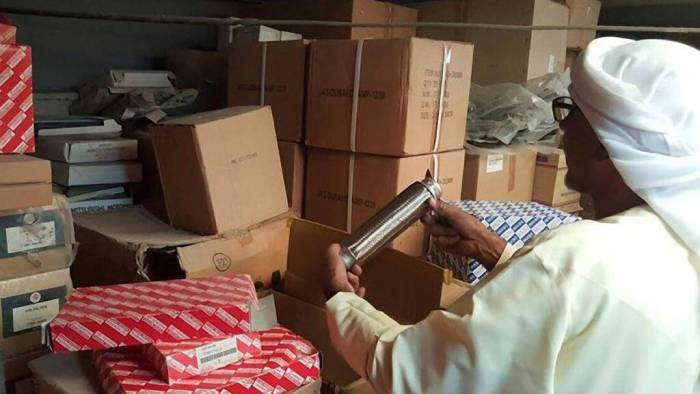 UAE Government Raid on Fake Spare Parts Dealers in Dubai