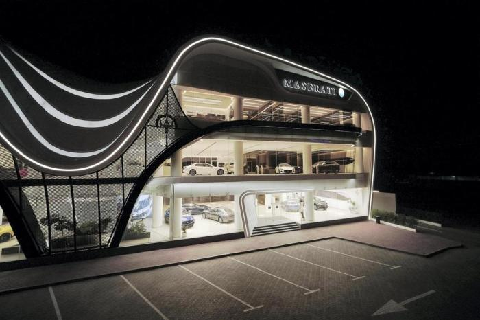 Maserati Showroom Dubai